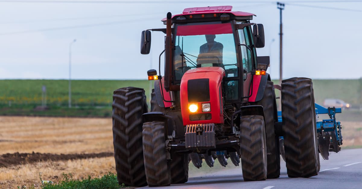 Stay Alert for Slow-Moving Farm Vehicles