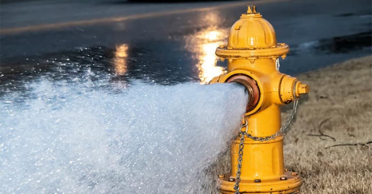 MD Crews Flushing Hydrants September 20 to October 10