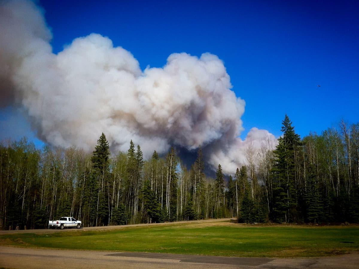 Wildfire Timeline Day 1