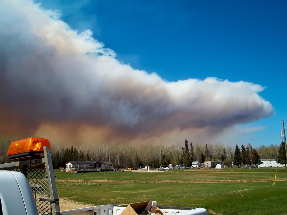 Wildfire Timeline Day 2
